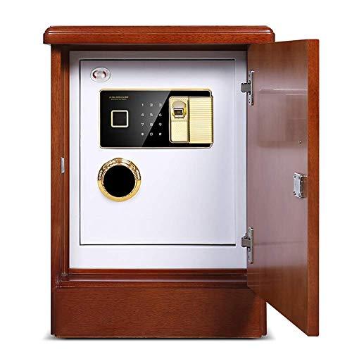 YDHBD Seguridad Caja Fuerte, Biométrico De Huellas Digitales Electrónico Contraseña Digital Cajas...