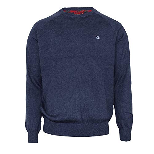 BERTY, crew neck jumper (Navy Marl, M)
