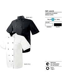 MISEMIYA - Chaquetas Chef COCINERO MANGA CORTA - Ref.8501B