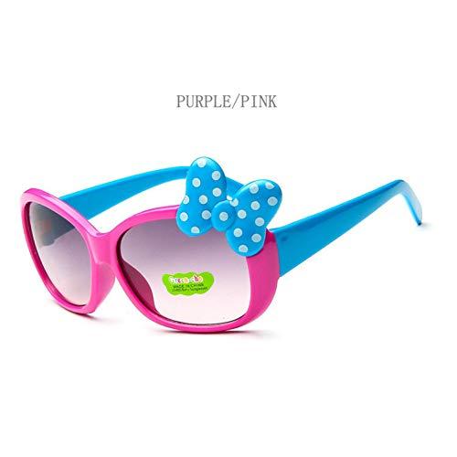 Taiyangcheng Kinderschutzbrille-Mädchenlegierungs-Sonnenbrille-heiße Art und Weise Jungen-Mädchen-Baby-Kind-Nette Sonnenbrille,C6