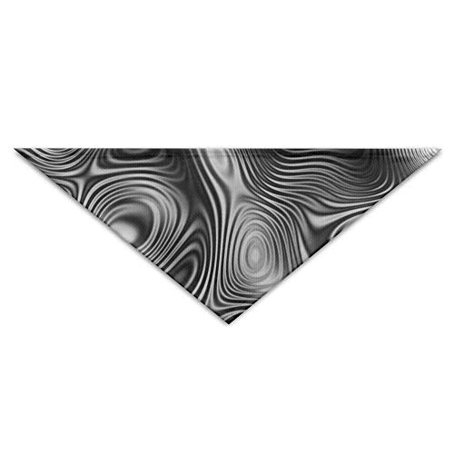 Sdltkhy Interference Wave Abstract Lines Triangle Pet Scarf Dog Bandana Pet Collars Dog Cat - Birthday -