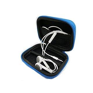 AUDIO123 Kopfhörer Ohrhörer Koffer Aufbewahrungsbox für MP3 / Ohrhörer von iPhone Sansung Snoy HTC Smartphone Zubehör Aufbewahrungskoffer in BLUE Nagelneu und hohe Qualität nicht die Kopfhörer in die Box