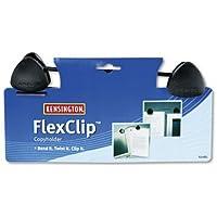 Kensington Flex Clip - Clip per documenti, con asta flessibile, nero