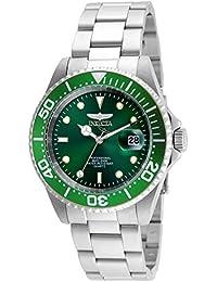 Invicta 24947 Pro Diver Reloj Unisex acero inoxidable Cuarzo Esfera verde