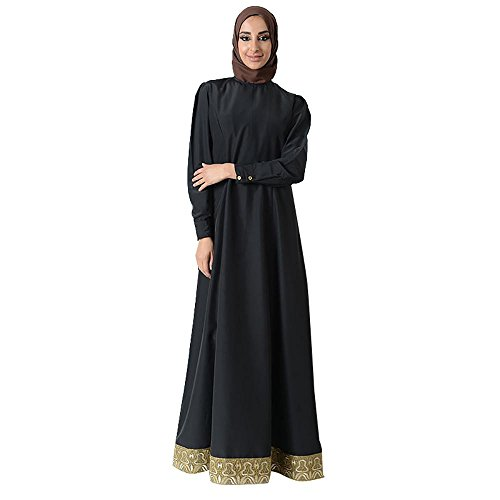 Embellished Eid Abaya Dress+Hijab