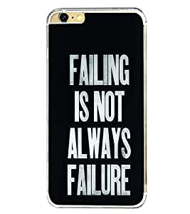 Fuson Designer Back Case Cover for Apple iPhone 6 Plus :: Apple iPhone 6+ (beautiful lines message quote meaning)
