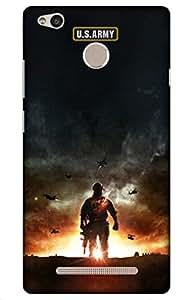 iessential usa Designer Printed Back Case Cover for Xiaomi Redmi 3S Prime