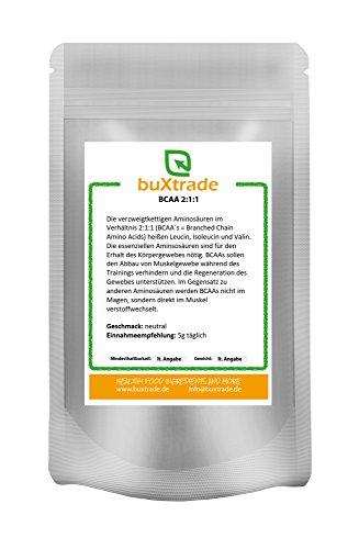 30kg-BCAA-2-1-1-Taste-L-Leucine-Isoleucine-Valine-Muscle-Building