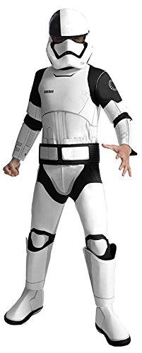 Rubies - 3640110 * Star Wars Kinder Kostüm, Executioner Trooper SW VIII DELUXE * Gr. M, L* 5J-10J (Medium)