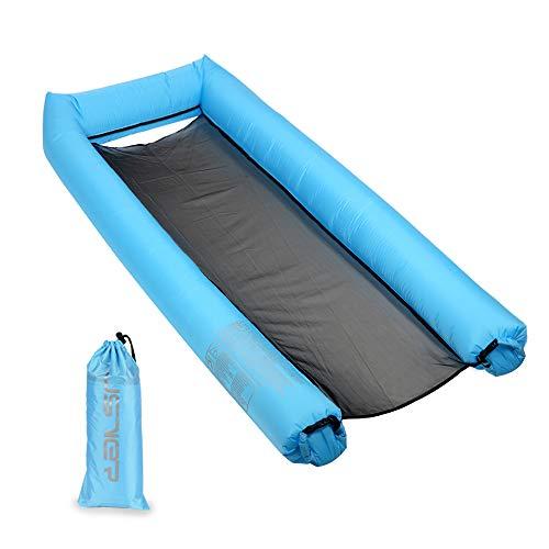 Jsver amaca galleggiante ad acqua, gonfiabile letto per piscina chaise longue galleggiante amaca d'acqua perfetta per la spiaggia per bambini e adult