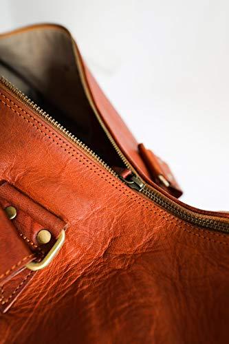 Berliner Bags Oslo XL Reisetasche aus Leder Weekender - 5