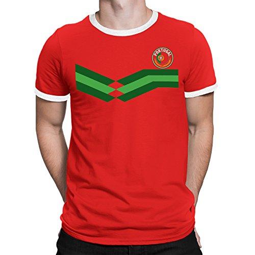 Tee Spirit Portugal Camiseta Para Hombre World Cup