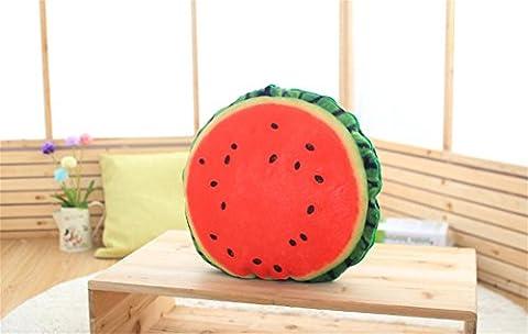 FR® Oreiller simulation Peluche fruit plier Oreiller était Multifonctions voiture