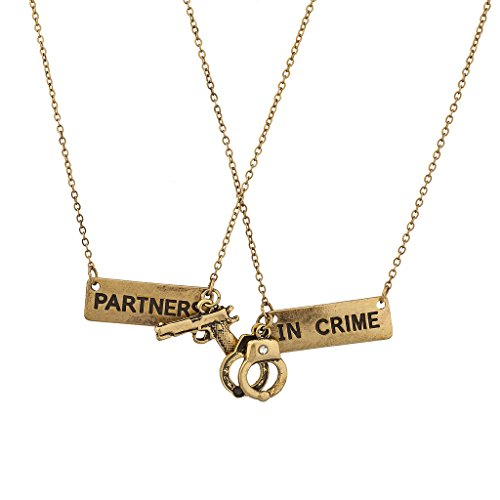 Lux Accessories Partners In Crime Handcuff Hand