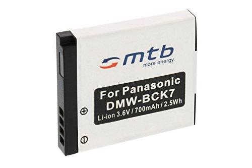 Ersatz-Akku DMW-BCK7 für Panasonic Lumix DMC-FP5, FP7, FT20, FT25, FS16, FS18, FS22, FS28