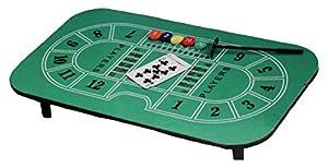 Krüger & Gregoriades 549720-Casino de Mesa Black Jack Incluye Accesorios