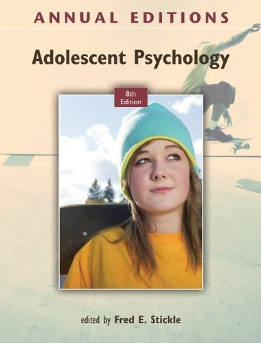 Annual Editions: Adolescent Psychology, ...