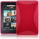 Terrapin TPU Gel Haut Schutzhülle für Amazon Kindle Fire Tablet–Hot Pink