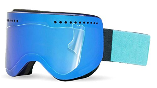 Ripclear Dragon NFX Snow Goggle Lens Protector Kit - Scratch-Resistant, Crystal Clear - 3-Pack