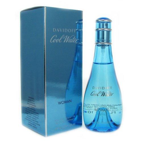 Davidoff Cool Water Eau De Toilette Spray for Women, 3.4 Ounce by Davidoff