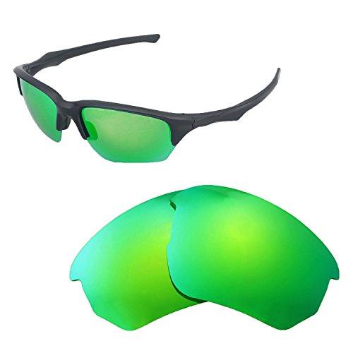 Walleva Ersatz-Gläser für Oakley Flak Beta-mehrere Optionen, Emerald - Polarized