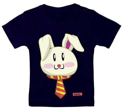 HARIZ Baby T-Shirt Osterhase Sonnenbrille Tiere Kindergarten Plus Geschenkkarte Matrosen Dunkel Blau 15-24 Monate / 80-92cm
