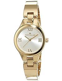 TOM Tailor de relojes mujer-reloj analógico de cuarzo chapado en acero inoxidable 5414402