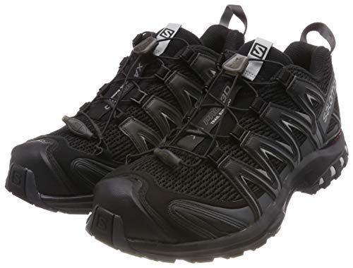 Salomon XA PRO 3D\', Herren Traillaufschuhe, Schwarz (Black/Magnet/Quiet Shade), 41 1/3 EU (7.5 UK)