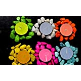 Candles For Diwali Candles Tea Light Candles Scented (Pack Of 30) Smokeless- 03 Hours