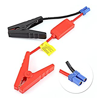 Cables de arranque de elevación, cables de arranque de reemplazo de batería para coche, para conexión de batería de coche, pinzas de sujeción de cocodrilo de emergencia