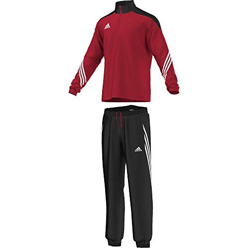 adidas Fußball Bekleidung Sere14 Präsentations Trainingsanzug Sun/Black/Wht