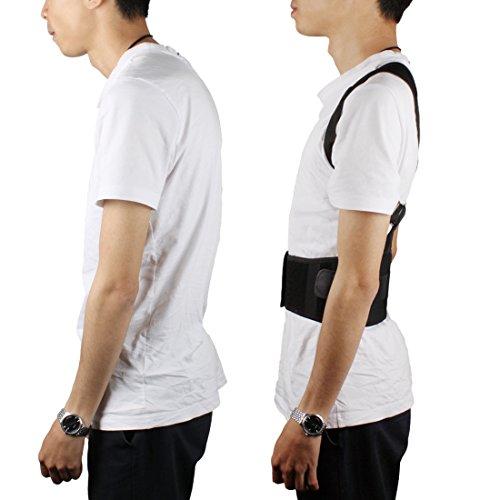Andux Zone Posture Corrector Back Support Ceinture respirante réglable BBJZD-01
