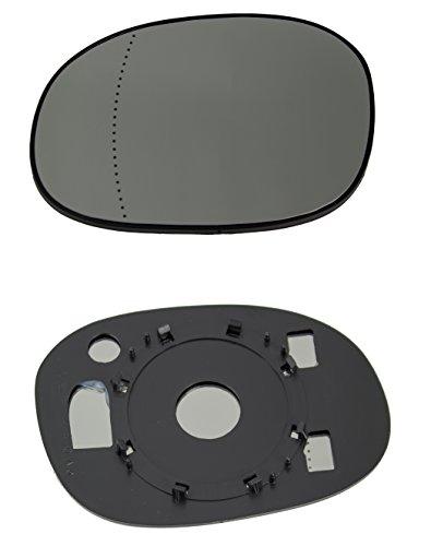 DoctorAuto DR165467 Miroir Glace Verre de Rétroviseur Extérieur Avec le Support en Plastique Gauche