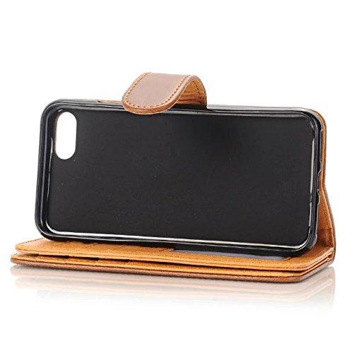 iPhone Case Cover Housse de qualité supérieure pour portefeuille, Housse Kickstand pour iPhone 4 ( Color : 3 , Size : IPhone 7 ) 4