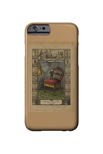 General Tom Thumb (Barnum's Gallery of Wonders plate) Vintage Poster USA c. 1849 (iPhone 6 Cell Phone Case, Slim Barely There)
