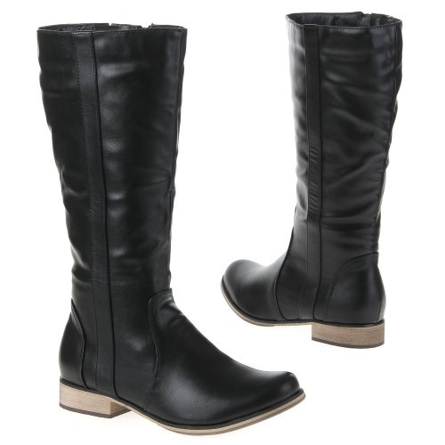 Damen Schuhe, AX7777, STIEFEL Schwarz AX7777