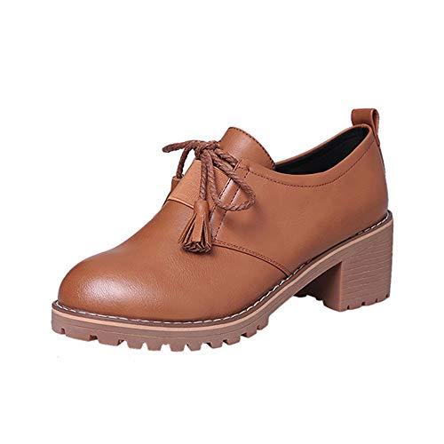 Wildleder-plattform-boot (Lonshell Damen Blockabsatz Schnürstiefeletten Mode High Heels Plattform Ankle Stiefel Stiefeletten Sneakers Elegant Wildleder Boots Schuhe Klassische Winter Stiefel)