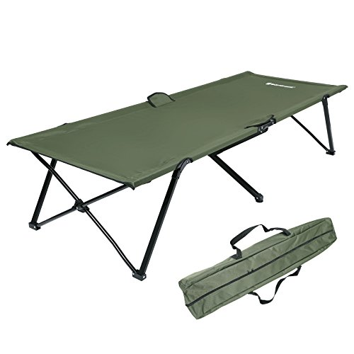 Songmics Campingbett Feldbett TÜV Rheinland max. statische Belastung 240 kg 206 x 45 x 75 cm GCB25J