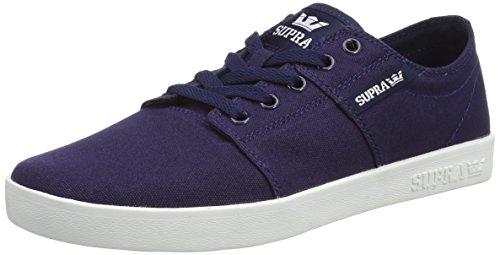 Supra  STACKS II D, Sneakers basses mixte adulte Bleu - Blau (NAVY - WHITE   NVY)