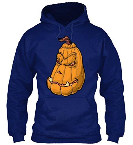 n / Herren / Unisex von Teespring | Originelles Outfit für jeden Anlass und lustige Geschenksidee - Scary Pumpkin Hoodie Halloween Creepy (Scary Halloween-outfits Uk)