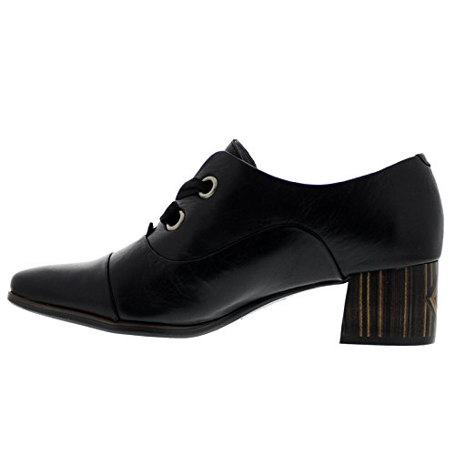 Pikolinos Womens Canada W8N-5750 Leather Shoes Black