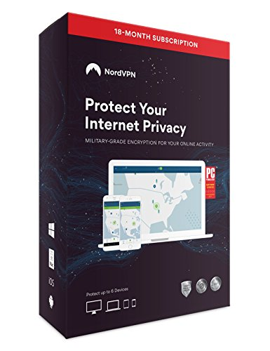 Nord9007 Internet Privacy & Security Software, 18 Monate, VPN-Abonnement, 6 Geräte, Mac / PC / iOS / Android / Linux, Schlüsselkarte
