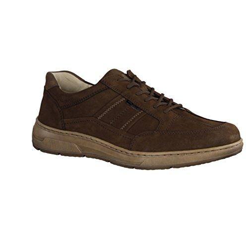 Waldläufer Hadrian 365004-901 - Herrenschuhe Sneaker / Schnürschuh, Braun, leder (denver) Braun