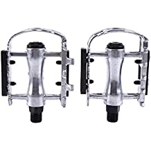 1 Paire De Pédalier De Vélo En Alliage D'aluminium Pédales De Cyclisme Pédales De Plate-forme Pour MTB Vélo Tout Terrain
