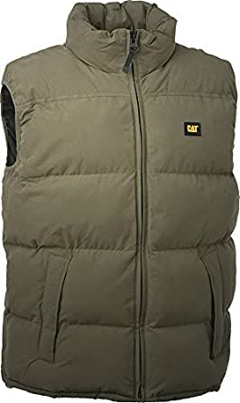 Caterpillar C430 Bodywarmer Gilet Black Padded Small