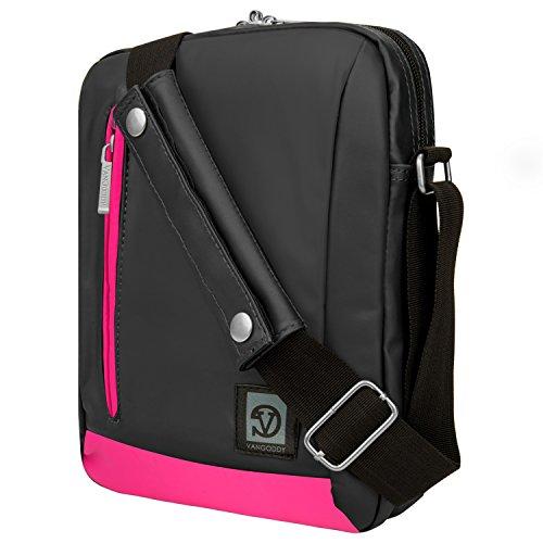 Ice Fishing-elektronik (Umhängetasche Messenger Tasche für ASUS Transformer Book/Mini/Chromebook 25,4cm Tablets rosa rose 10 Zoll (25,4 cm))
