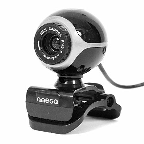 Omega OUW10SB - Webcam de 2 MP