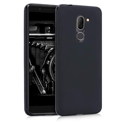 kwmobile Alcatel 3X Hülle - Handyhülle für Alcatel 3X - Handy Case in Schwarz matt