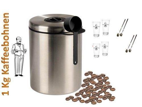Kesper Kaffee-Kapselhalter Acryl Bambus