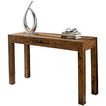 Kare Laptoptisch Brooklyn Walnut, Kleiner Schreibtisch in